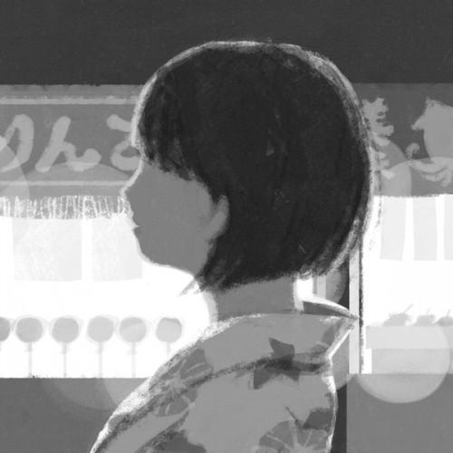 "Illustrations for the novel ""Shining stars of fine sky"" written by Hisashi Sekiguchi in Shosetsu Subaru, October 2012 issue."